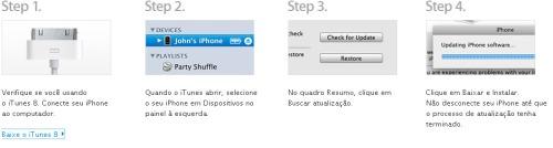 Atualização do IPHONE 3.0