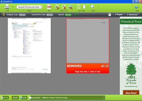 Software ajuda a poupar papel nas impressões. (Foto: Reprodução)