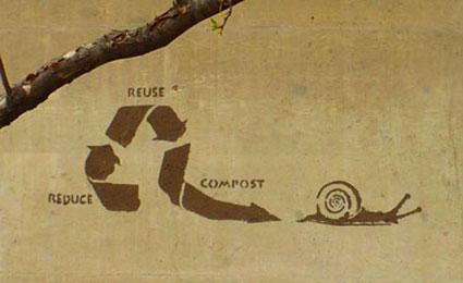 Lama, grama ou terra. O importante do Eco Grafite é passar a mensagem sem agredir o planeta / Fotos: Divulgação