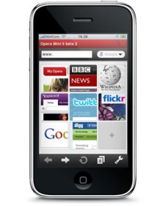 Opera Browser para IPhone